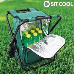Sit Cool 3 en 1 | Silla Plegable, Bolsa Térmica y Mochila